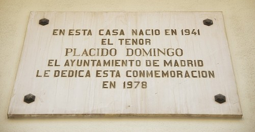 """Plácido Domingo: """"Nací a diez minutos del Real, en la calle Ibiza"""" domingo"""