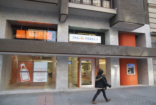 Zona retiro oficina ing direct de la calle o for Oficinas ing direct barcelona