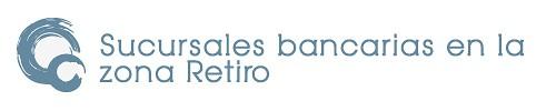 Sucursales bancarias en la zona Retiro