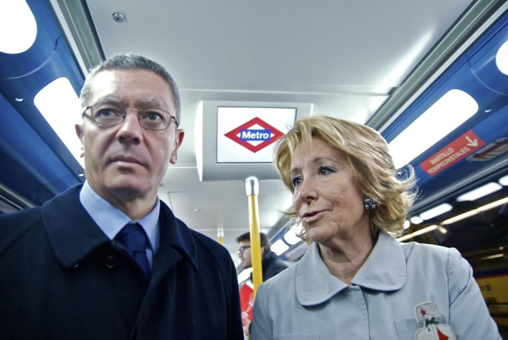 El transporte: el próximo rifirrafe entre Aguirre y Gallardón gallarespe