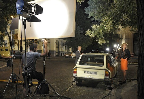 La nueva temporada de 'Cuéntame' se graba en el barrio Casa Nueva 2844