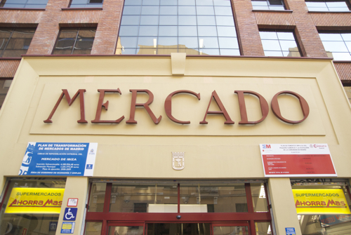 Mercado Municipal de Ibiza en Madrid mercado