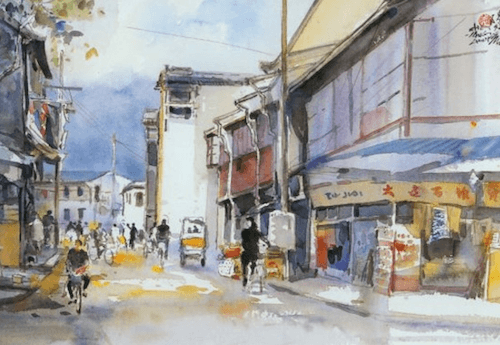 'Things Seen In Hanzhou', de Chen Yang-chun