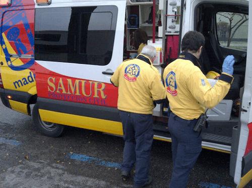Dos heridos tras una explosi n en la oficina del inem de for Oficina inem madrid