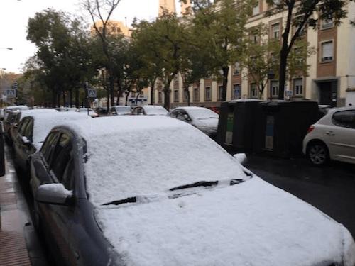 Activado el plan de inclemencias invernales hoy nevar en for Piscina sainz de baranda